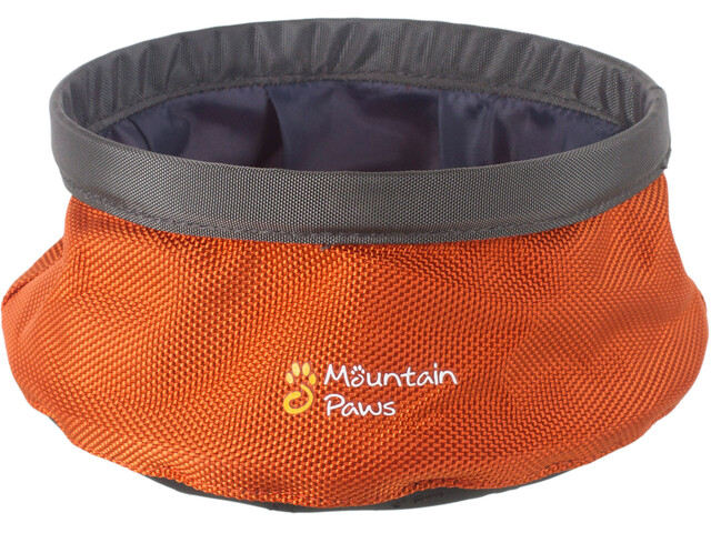 Mountain Paws Wasserschüssel S faltbar orange